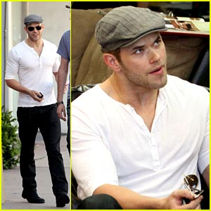 Kellan Lutz Makes A Bargain