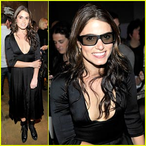 Nikki Reed is a Burberry Beauty