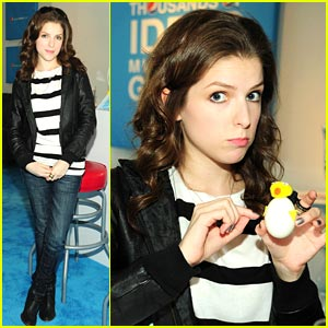 Anna Kendrick is Eggs-cellent