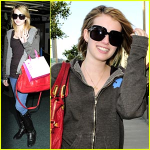 Emma Roberts Intermix-es It Up