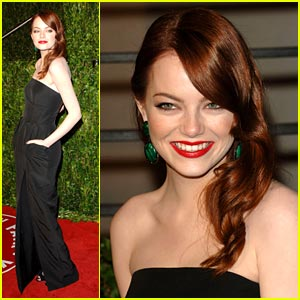 Emma Stone is Vanity Fair Fabulous