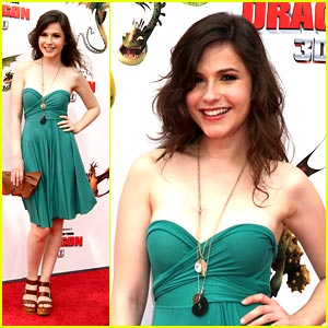 Erin Sanders is Dragon Delicious