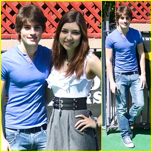Gregg Sulkin & Shelby Young Get Connected