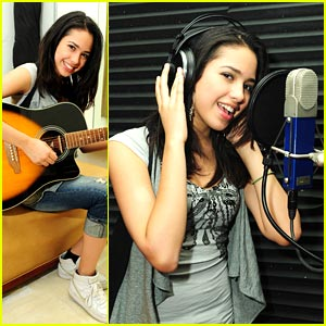 Jasmine V Hits The Studio