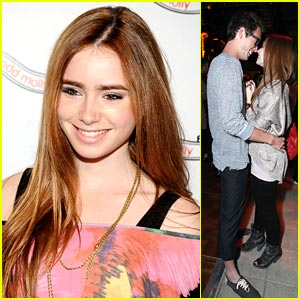 Lily Collins is Odd Molly Marvelous
