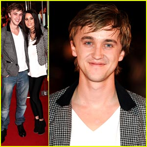 Tom Felton Premieres 'Remember Me' in London