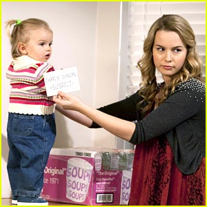 Bridgit Mendler Blames The Baby
