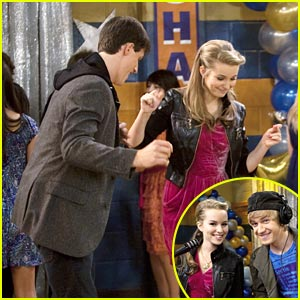 Bridgit Mendler & Shane Harper Dance The Night Away