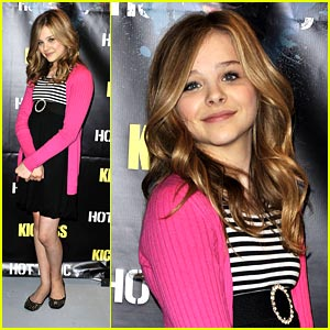 Chloe Moretz is Pretty in Pink