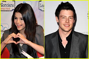 Cory Monteith Joins Selena Gomez in Monte Carlo