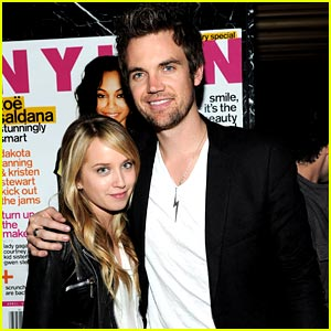 Megan Park &#038; Tyler Hilton: Nylon Party Pair