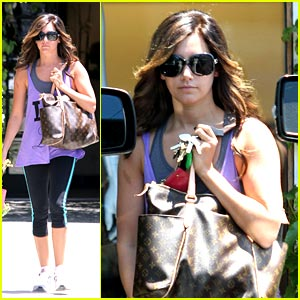 Ashley Tisdale is Louis Vuitton Lovely