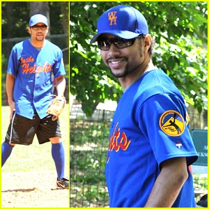 Corbin Bleu: Baseball on Broadway!