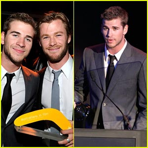 Liam Hemsworth: Young Hollywood Breakthrough of the Year!