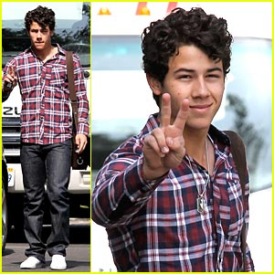 Nick Jonas is a Plaid Person
