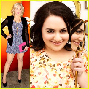 Nikki Blonsky &#038; Hayley Hasselhoff: Huge Upfronts!