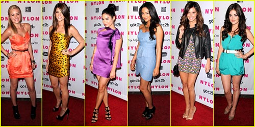 2010 Nylon Young Hollywood Party -- Best Dressed Poll!