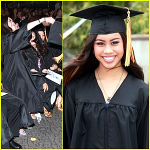 Ashley Argota Graduates -- IN PICS!