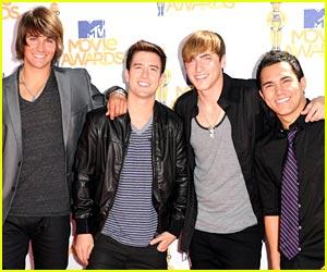 Big Time Rush -- MTV Movie Awards 2010