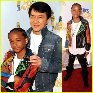 Jaden Smith -- MTV Movie Awards 2010