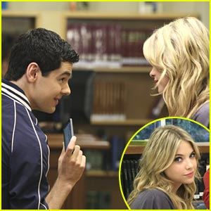 Ashley Benson & Brendan Robinson: Flirting Friends