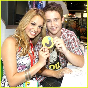 Gage Golightly & Nick Purcell: Comic-Con Couple
