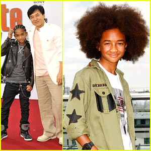 Jaden Smith: Afro in Berlin!