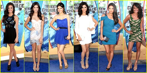 2010 Teen Choice Awards - Best Dressed Poll!