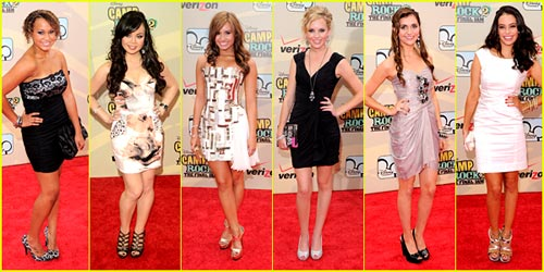 Camp Rock 2 Premiere - Best Dressed Poll!