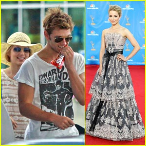 Dianna Agron &#038; Alex Pettyfer: Skittles Sweethearts
