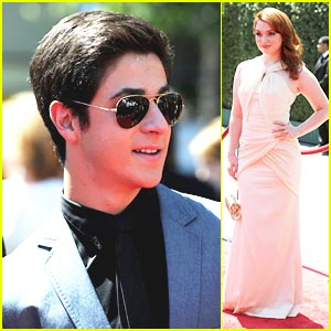 David Henrie: 2010 Creative Arts Emmys with Jennifer Stone!