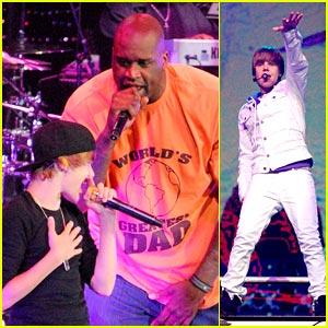 Justin Bieber & Shaq: Amway Amigos