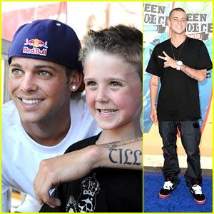 Ryan Sheckler: Choice Athlete at Teen Choice Awards 2010