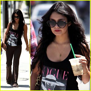 Vanessa Hudgens is Very Vogue