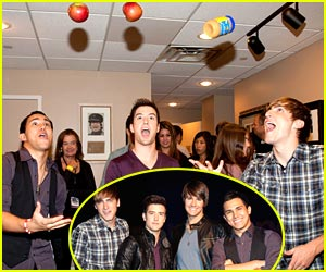 Big Time Rush are In-Tune With J-14