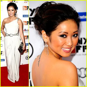Brenda Song is a 'Social' Butterfly