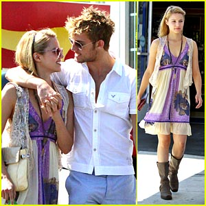 Alex Pettyfer Jumps for Dianna Agron's Love