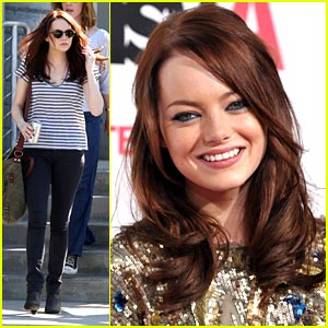 Emma Stone Premieres 'Easy A'