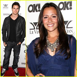 Robbie Amell & Italia Ricci are an OK Couple