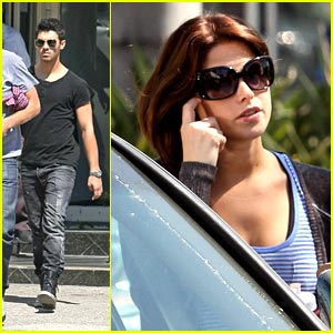 Joe Jonas Goes To the Doctor; Ashley Greene Hits the Gym