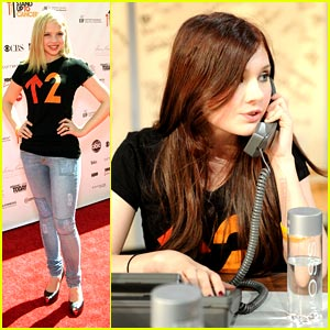 Sofia Vassilieva & Abigail Breslin Kick Cancer to the Curb