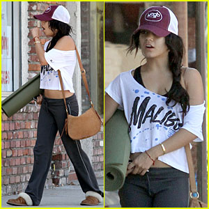 Vanessa Hudgens: Yoga Workout Woman