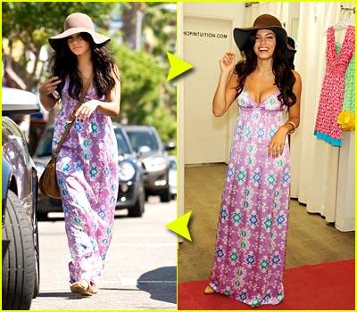 Fashion Faceoff: Love Shop Kara Silk Maxi Dress