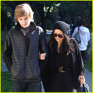 Brenda Song &#038; Dylan Sprouse: Sunday Stroll in Vancouver