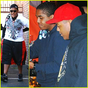 Kyle Massey: Haunted House in Hollywood with Christopher!