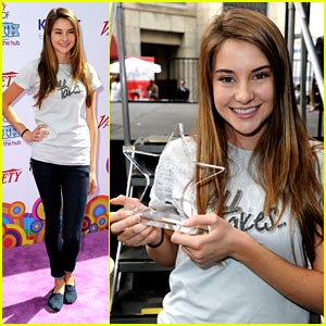 Shailene Woodley: 'All It Takes' is the Power Of Youth