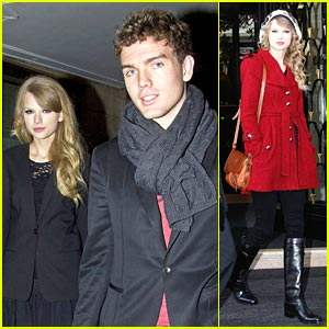 Taylor Swift: Nobu Night with Brother Austin!