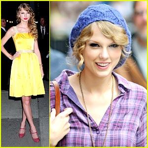 Taylor Swift: Ed Sullivan Sweetheart