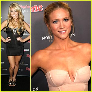 Brittany Snow: Rolling Stone Party with Cassie Scerbo!