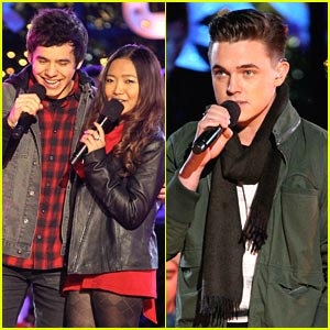 David Archuleta &#038; Jesse McCartney Light Up The Grove